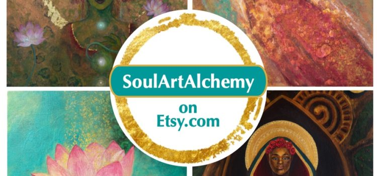 Soul Art Alchemy Open on Etsy!