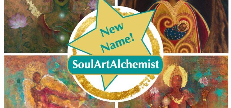 Soul Art Alchemist Branding